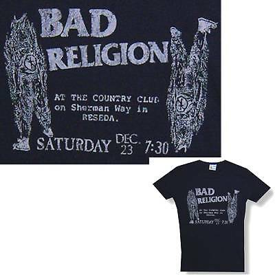 Bad Religion! At Country Club Black Babydoll T-Shirt Xl