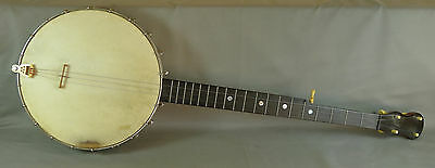 1920s 5-String Jos. B. Rogers Jr Banjo w/ Early Tailpiece Pat. 1886 & Soft Case