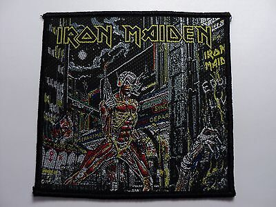 Iron Maiden   Woven  Patch