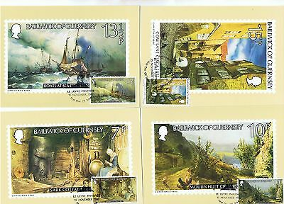 GUERNSEY 16 PHQ-CARDS s SCANS