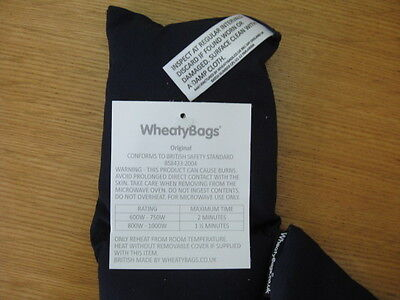 Non fragrant Wheaty Bag for Microwave. New & Unused.