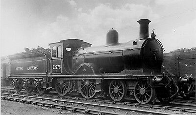 "Photo Ex LNER Class D40 No 62278 ""Hatton Castle"" at Kittybrewster MPD on 4/9/49"