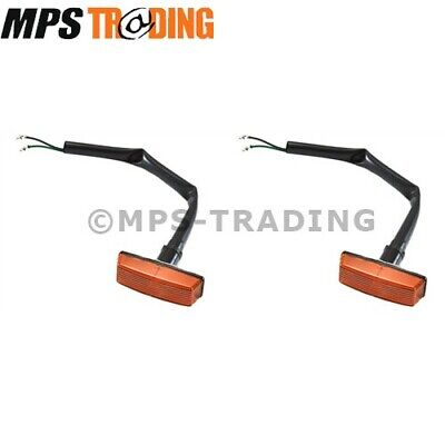 Land Rover Defender To 1994 Side Wing Repeater Indicator Lamps Pair  2 X Prc7044