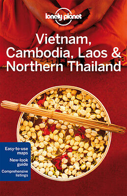 Vietnam Cambodia and Northern Thailand Lonely Planet Travel Guide Book 2014