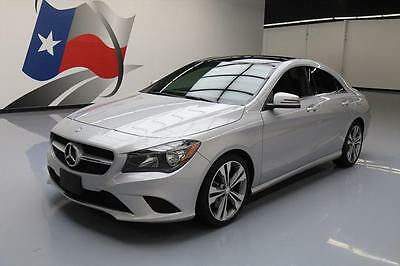 2014 Mercedes-Benz CLA-Class  2014 MERCEDES-BENZ CLA250 P1 PANO ROOF NAV REAR CAM 24K #039337 Texas Direct