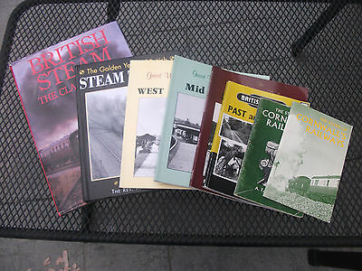 Collection Of Railway Books