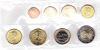 Euro Serie Finland 2006 - 1 cent / 2 Euro - 8 coins - Uncirculated Condition