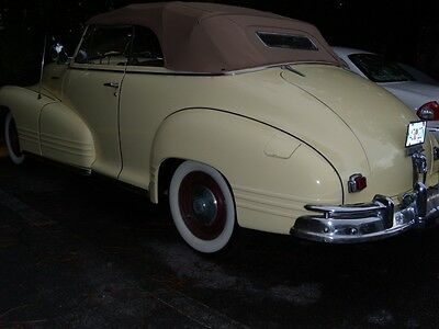 1947 Pontiac Torpedo TORPEDO 8 CYL CONVERTIBLE 1947 PONTIAC CONVERTIBLE,8 CYL,ONE FAMILY SINCE NEW,NICE LOOKING,SOLID CAR
