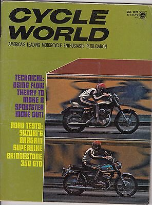 Cycle World Magazine Motorcycle Magazine OCTOBER 1970 OCT