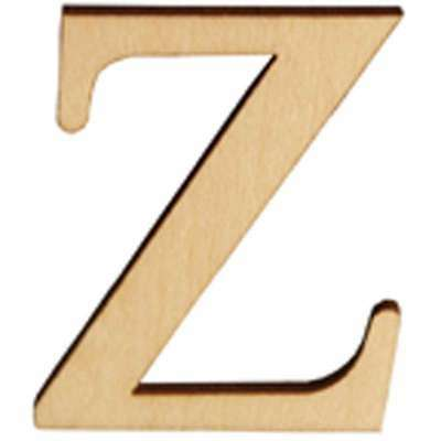 Wood Letters & Numbers 1.5 Inch 2/Pkg-Z 046308143254
