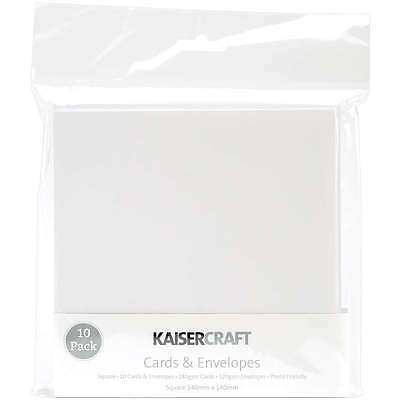Square Card Pack-White 883416155010