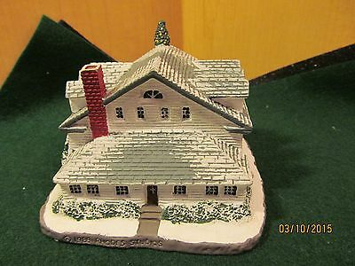 Rockwell Main Street Collector Houses-Rockwell's Studio #3568K 1988
