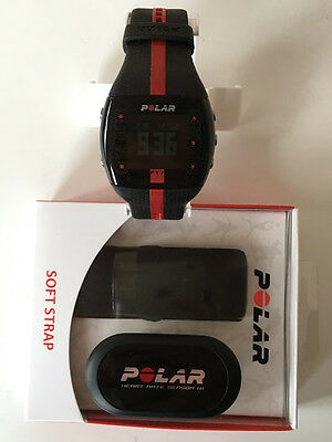 Delicious Black Polar FT7 Heart Monitor Exercise Watch With Polar Wearlink