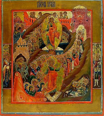 Russian Icon of Resurrection