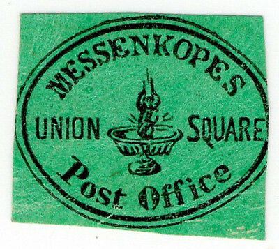(I.B) US Local Post : Messenkope's Post Office