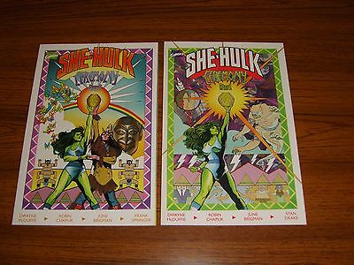 She-Hulk: Ceremony #1-2 Set  (Marvel) Prestige