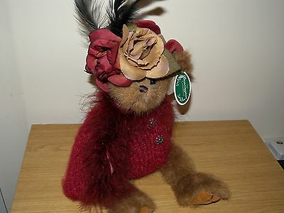 "bearington bear called vanna approx 12"" tall retired in 2006.with tags."