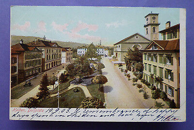 September 19,1903 Postcard from Heiden, Appenzel Ausserrhoden, Switzerland