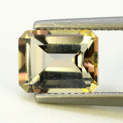 4.13 Ct Rainbow Brazil Topas Octagon Cut