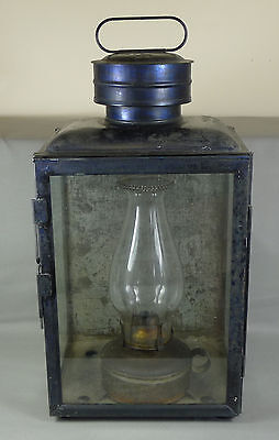 Dietz No. 1 Climax Lamp - Railroad Station Lantern, with Oil Lamp