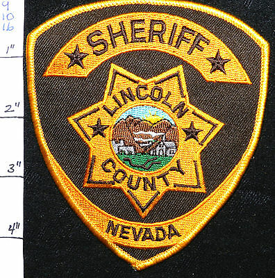 Nevada, Lincoln County Sheriff Dept Patch