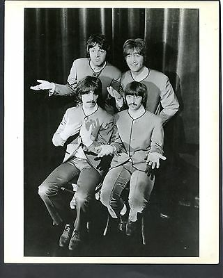 The Beatles Usa Fan Club Promotional Photo Of The Group See Scan