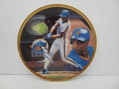 1989 Sports Impressions Darryl Strawberry Collector Plate