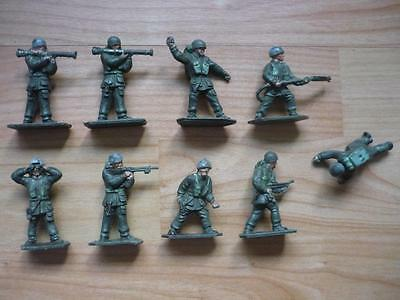 Vintage Lone Star Harvey Series  Paratroopers Figures x 9