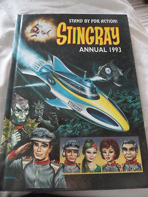 Stingray Annual 1993 - Stand By For Action - Price Unclipped