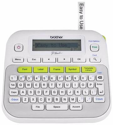 NEW Brother P-Touch Label Maker Labeler Machine Model PT-D210 SEALED