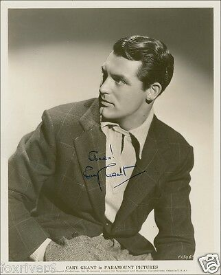 CARY GRANT Signed Photograph - Film Star Actor (1936) - preprint