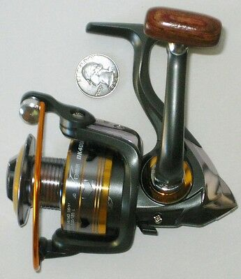 NEW OK 4000 11BB Ball Bearing Spinning Reel Fishing NWOB Speed Aluminum Spool A+