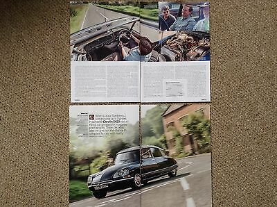 CITROEN DS23 Pallas 1971 - Classic Test Drive Article