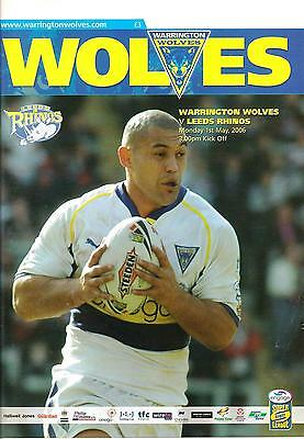Warrington v Leeds - Super League - 2006