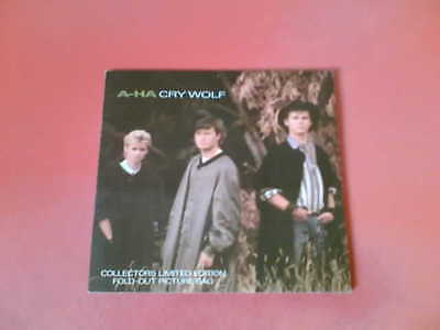 "A-HA Cry Wolf Limited Edition Fold-Out 7"" Vinyl!"