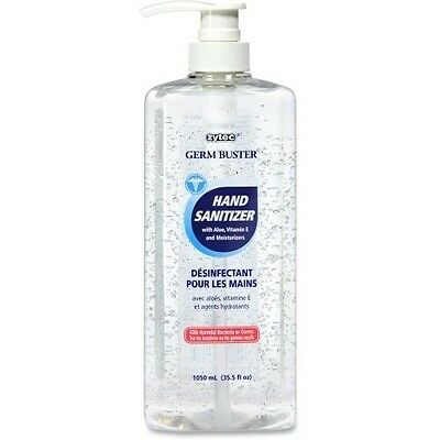 Zytec Germ Buster Clear Gel Hand Sanitizer 01208