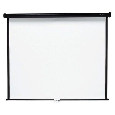 "Quartet Manual Projection Screen - 84.9"" - 1:1 - Wall Mount, Ceiling Mount 660S"