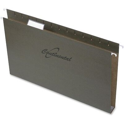 Continental Extra-capacity Standard Green Hanging Folders 37272