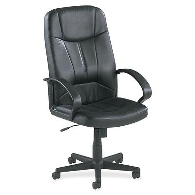 Lorell Chadwick Executive Leather High-Back Chair 60120