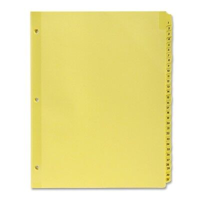 Sparco Numbered 1-31 Index Dividers 01808