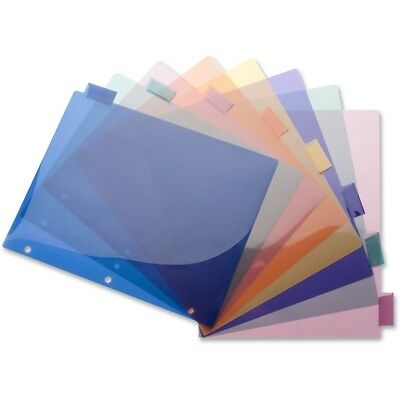Business Source Poly Index Divider 32371