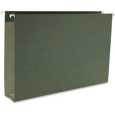 Smead 64359 Standard Green Hanging Box Bottom Folders 64359