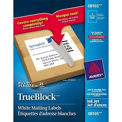 Avery Mailing Label 08165