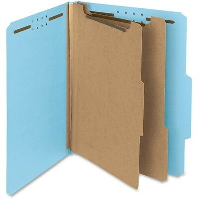Smead 14021 Blue 100% Recycled Pressboard Colored Classification Folders 14021