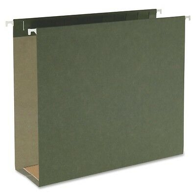 Smead 64279 Standard Green Hanging Box Bottom Folders 64279