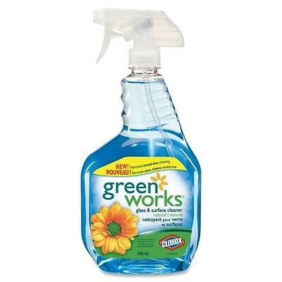 Green Works Natural Glass/Surface Cleaner 01067