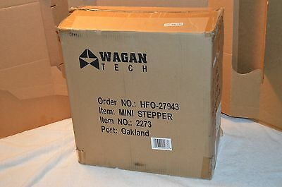 NEW Wagan Tech 2273 Mini Stepper Exercise Equipment With Meter