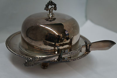 Vintage WM Rogers Silver Plated Dome Butter Dish
