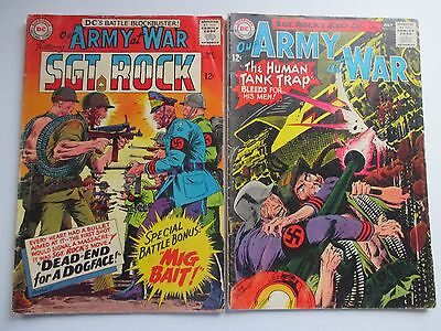 Dc Our Army At War #156,161 1965 Sgt Rock And Easy Company