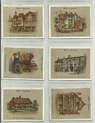 Wills Cigarette Cards - OLD INNS A SERIES - Full set of 40